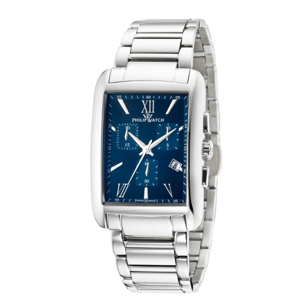 Orologio Philip Watch uomo cronografo Trafalgar blu uomo - galleria 2