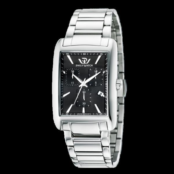 Orologio Philip Watch Trafalgar chrono - 32x44 mm R8273674002 - galleria 1