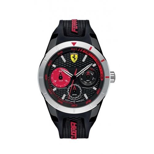 Ferrari Reret-g-plas-rou-blk-s-scblk uomo FER0830254