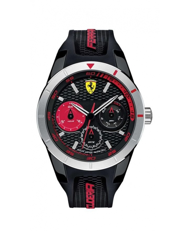 Ferrari Reret-g-plas-rou-blk-s-scblk uomo FER0830254 - galleria 1
