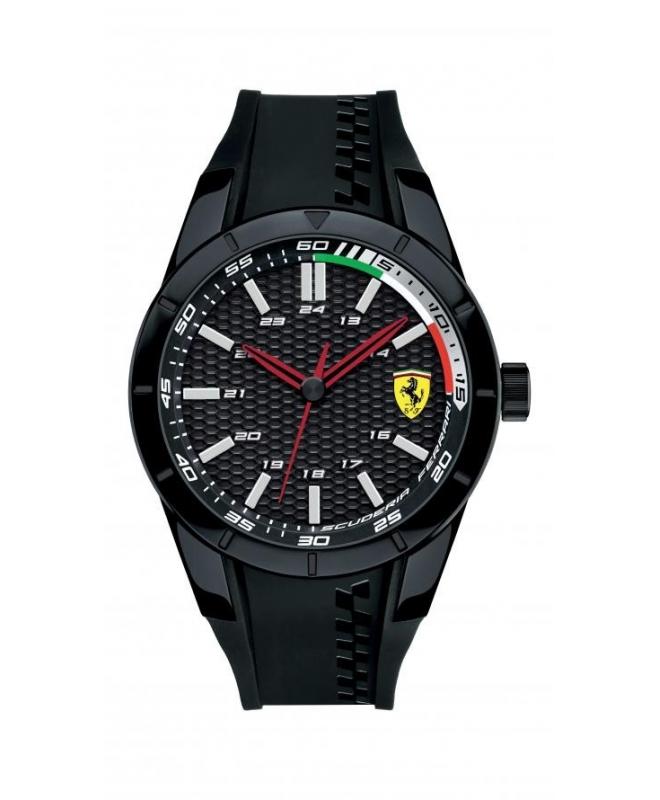 Ferrari Rerev-g-plblk-rou-blk-s-scblk uomo FER0830301 - galleria 1