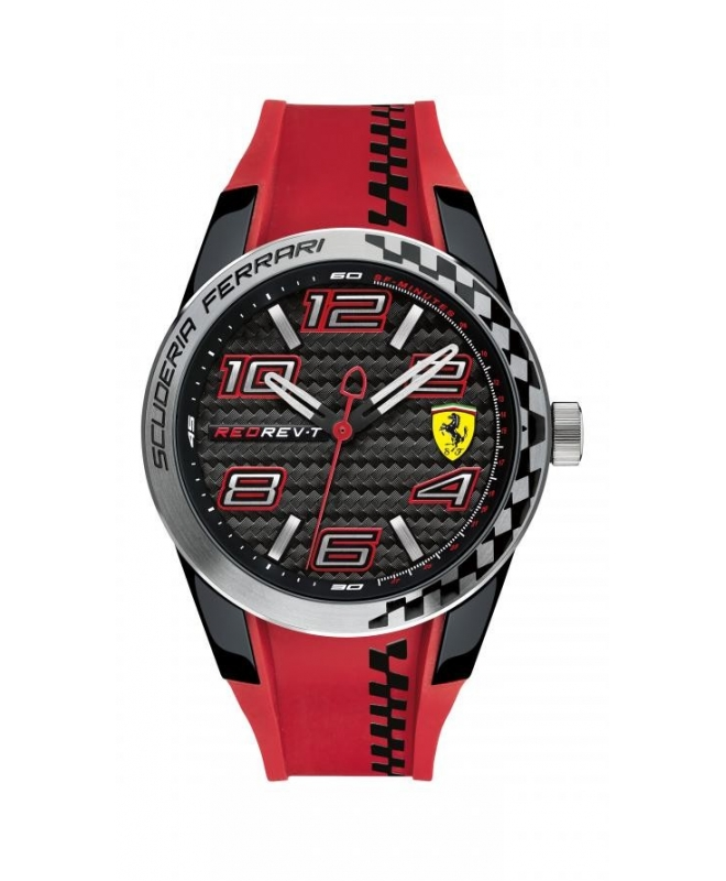 Ferrari Redrev t3 3h silicon strap - galleria 1