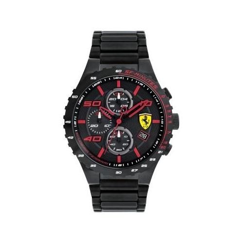 Ferrari Speciale evo automatic chr silicon strap uomo FER0830361