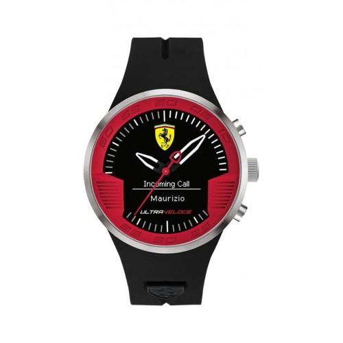 Ferrari Ultraveloce - digitale 3h silicon strap