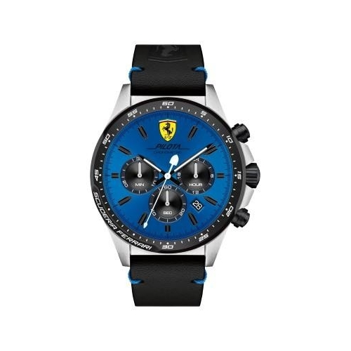 Ferrari Pilota-m-ssipblk-rou-blu-s-leblk uomo FER0830388