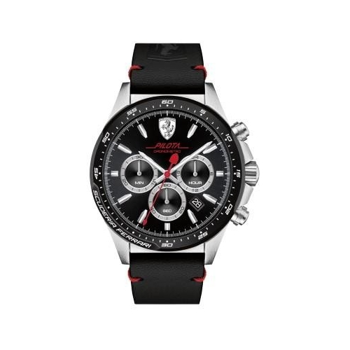 Ferrari Pilota-m-ss-rou-blk-s-leblk uomo FER0830389