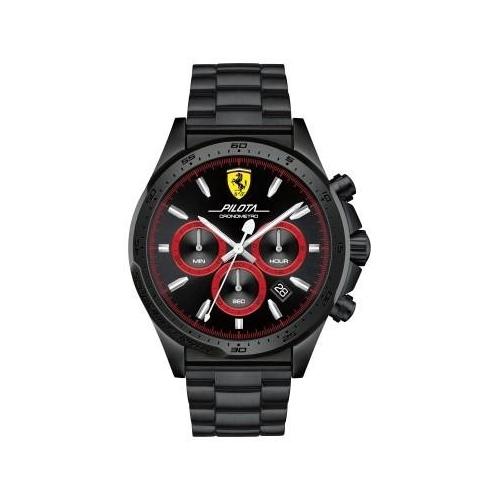 Ferrari Pilota-m-ipblk-rou-blk-b-ipblk uomo FER0830390