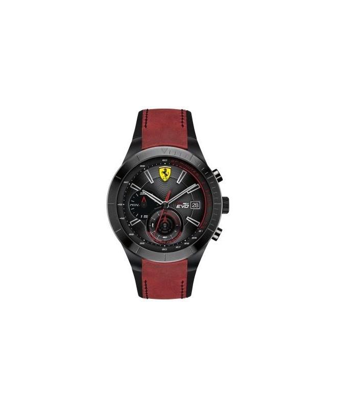 Ferrari Rereo-m-ipblk-rou-blk-s-scbklere uomo FER0830399 - galleria 1