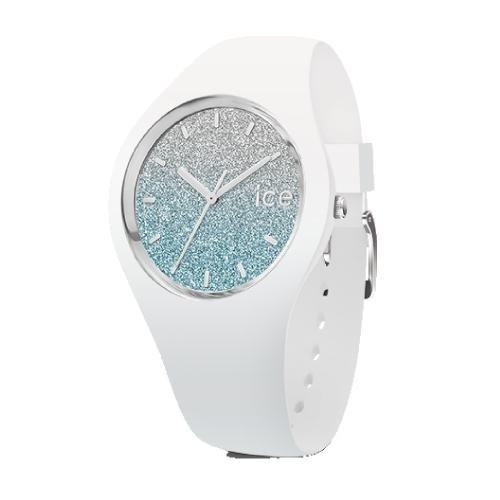 Ice-watch Ice lo - white blue - medium - 3h