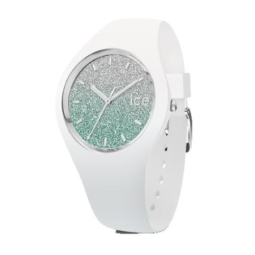 Ice-watch Ice lo - white turquoise - medium - 3h