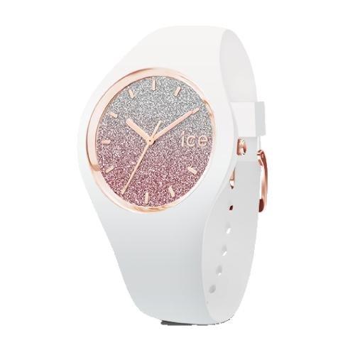 Ice-watch Ice lo - white pink - medium - 3h