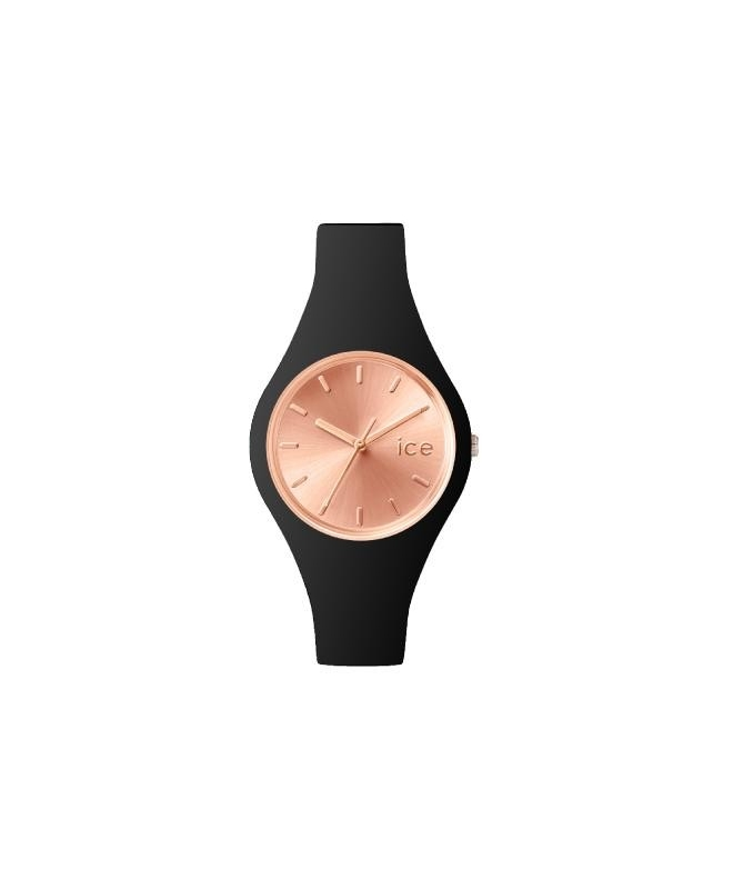 Ice-watch Ice chic - black rose-gold - small - galleria 1