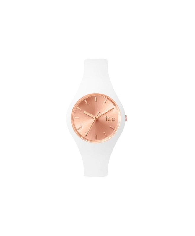 Ice-watch Ice chic - white rose-gold - small - galleria 1