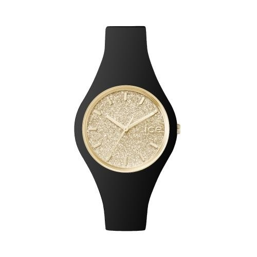 Ice-watch Ice glitter - black gold - small