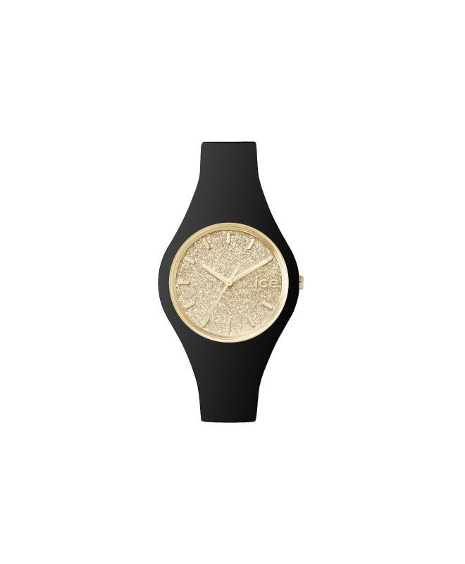 Ice-watch Ice glitter - black gold - small - galleria 1
