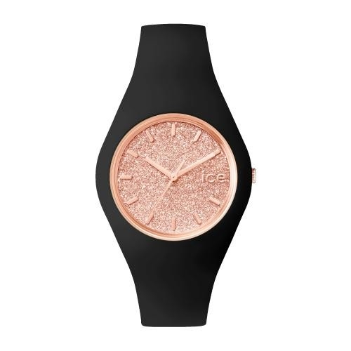 Ice-watch Ice glitter - black rose-gold - unisex