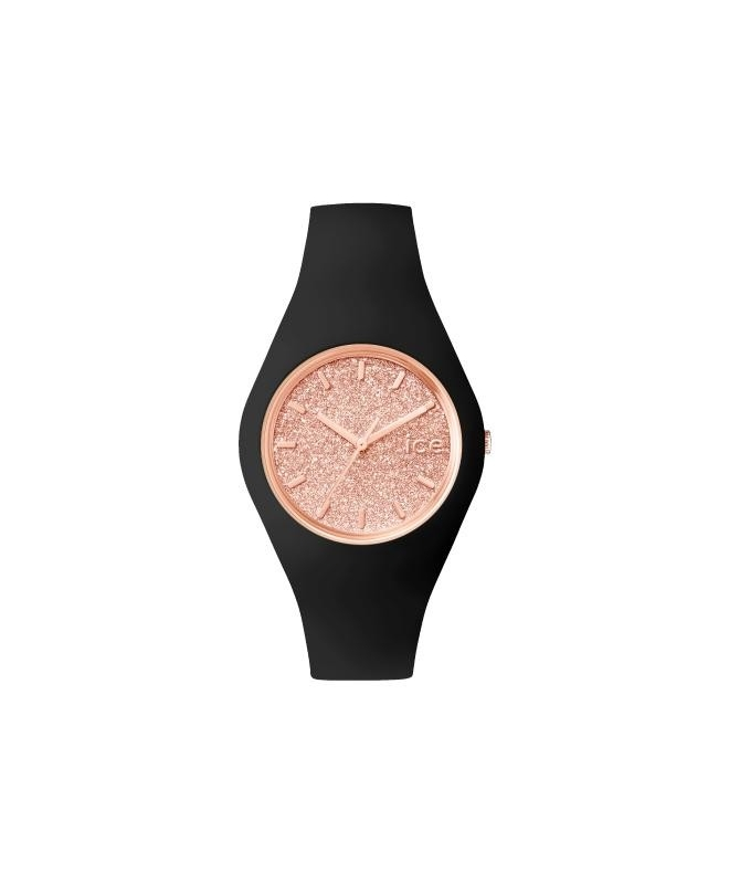 Ice-watch Ice glitter - black rose-gold - unisex - galleria 1