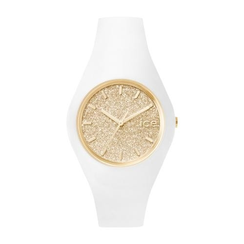 Ice-watch Ice glitter - white gold - unisex