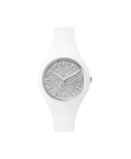 Ice-watch Ice glitter - white silver - small
