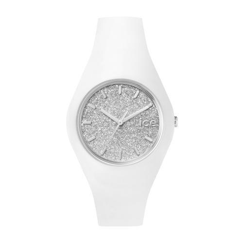 Ice-watch Ice glitter - white silver - unisex