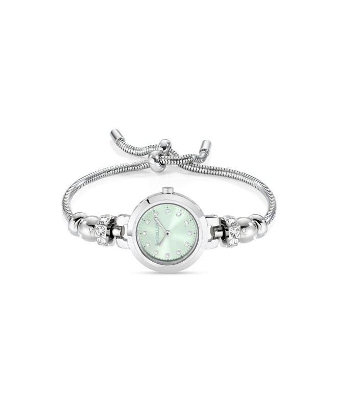 Morellato Drops 2h 28mm green dial br 4 beads ss donna - galleria 1