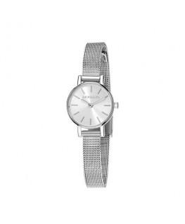 Morellato Tesori 20mm 2h w/silver dial br ss