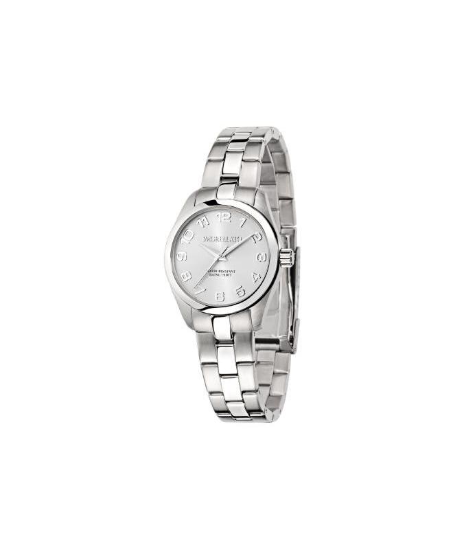 Morellato Posillipo 3h 32mm w/silver dial br ss donna - galleria 1