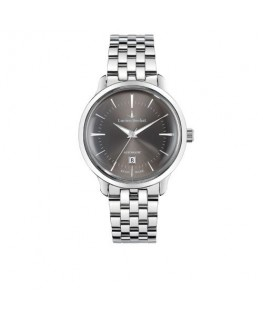 Lucien Rochat Granville 42mm auto 3h grey dial ss br