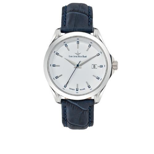 Lucien Rochat Montpellier 41mm 3h white dial black str
