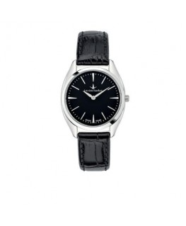 Lucien Rochat Lunel 32mm 2h black dial black strap