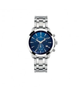 Lucien Rochat Montpellier 41mm chr blue dial ss br