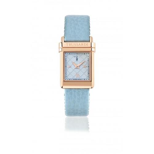 Trussardi Elegance lady 2h 37,8x26mm l.blu dial st