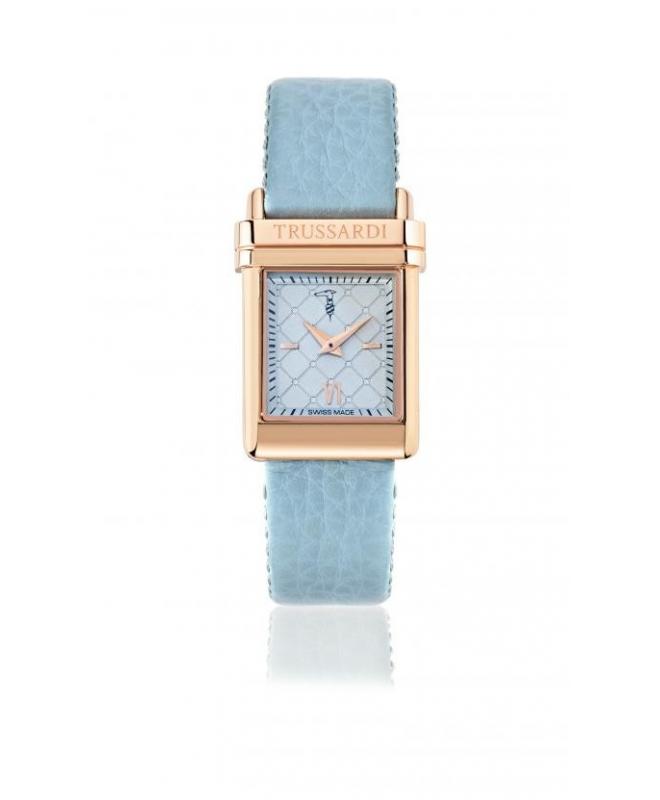 Trussardi Elegance lady 2h 37,8x26mm l.blu dial st - galleria 1