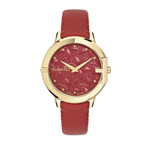Trussardi Heket 32mm 3h red dial red straps