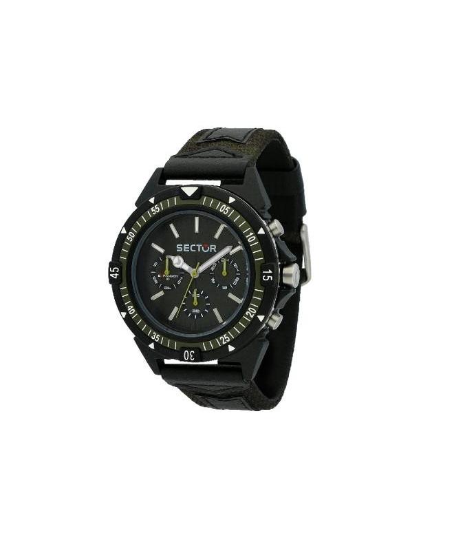 Sector Expander 90 44mm mult green dial/strap uomo R3251197052 - galleria 1