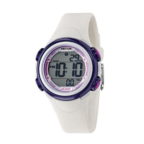 Sector Ex-06 36mm digital white strap