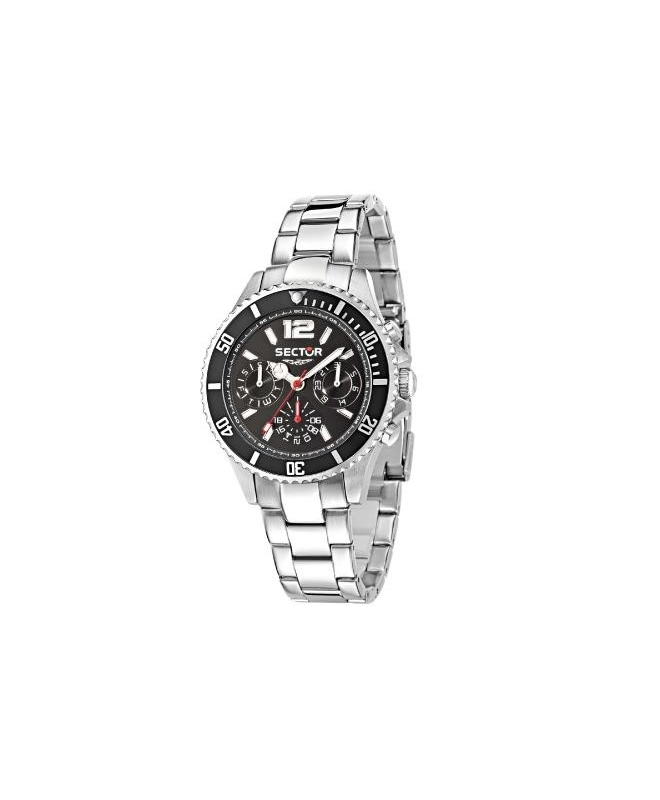 Sector 230 39mm mult black dial bracelet ss uomo R3253161011 - galleria 1