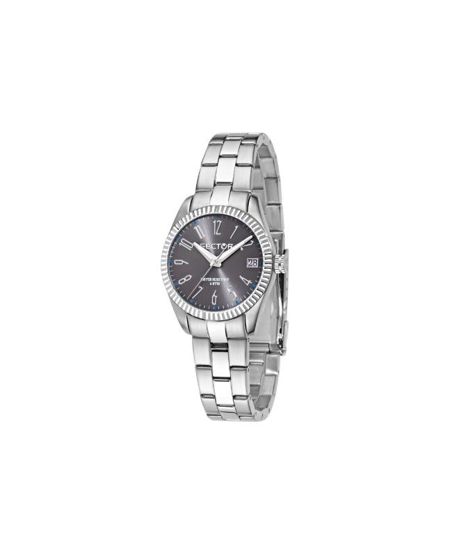 Sector 240 3h 32mm cool gray dial br ss - galleria 1