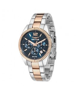 Sector 240 chrono 41mm blue dial brac rg&ss