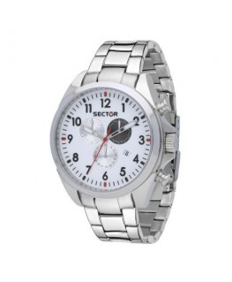 Sector 180 45mm chr silver dial ss br