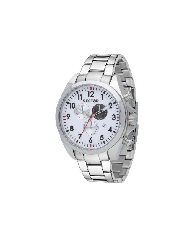 Sector 180 45mm chr silver dial ss br uomo R3273690010 - galleria 1