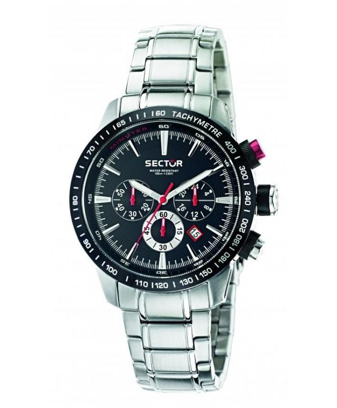 Sector 850 chr black dial bracelet uomo R3273975002 - galleria 1