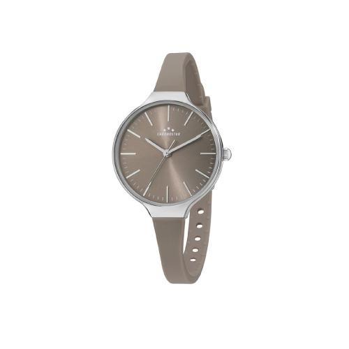 Chronostar Toffee lady 3h brown dial brown st