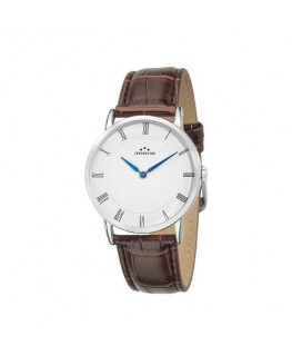 Chronostar Preppy plus 38mm 2h white dial brown st