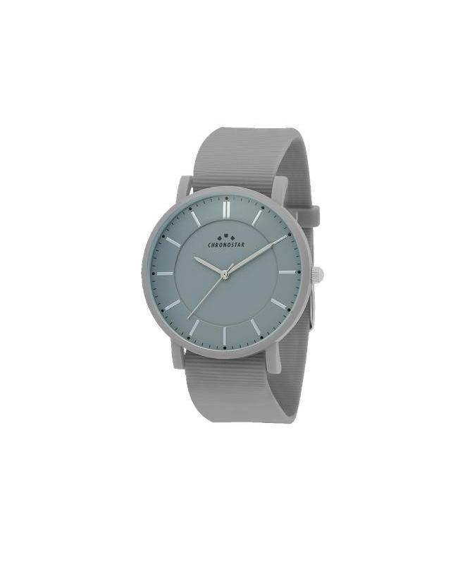 Chronostar Sorbetto 40mm 3h gray dial gray silicon - galleria 1