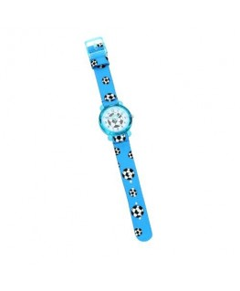 Chronostar Acquerello 31mm blue & football dial/st