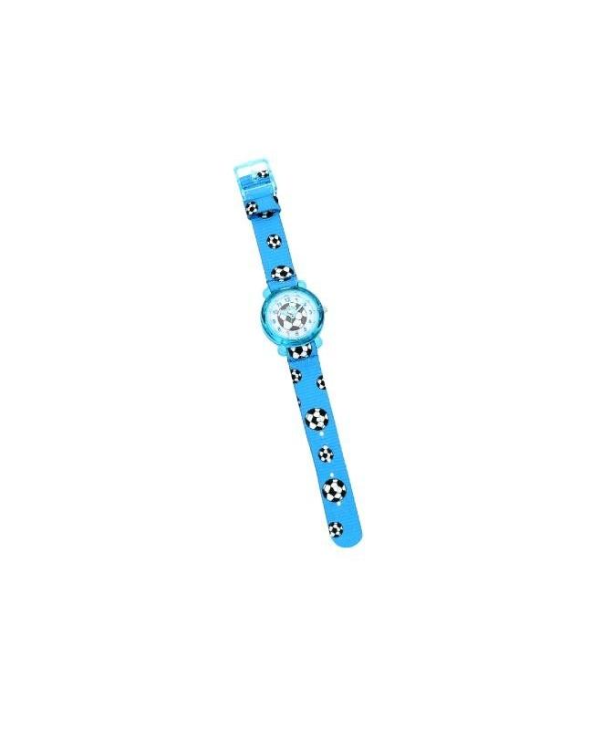 Chronostar Acquerello 31mm blue & football dial/st - galleria 1
