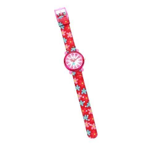 Chronostar Acquerello 31mm pink & flower dial/st