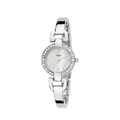 Chronostar Venere 3h white dial bracelet