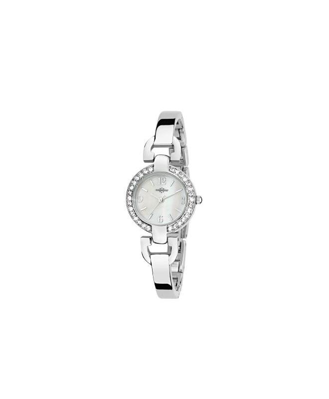 Chronostar Venere 3h white dial bracelet - galleria 1